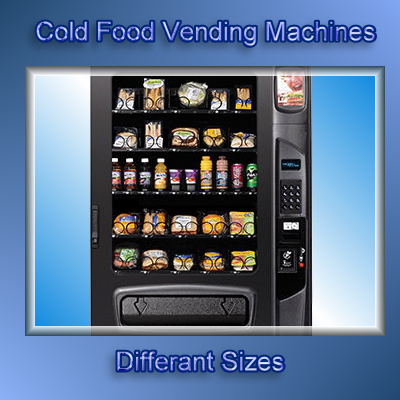 cold food vending machine for sale