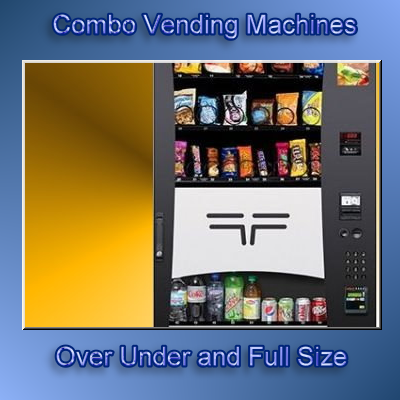 combo vending machines for sale