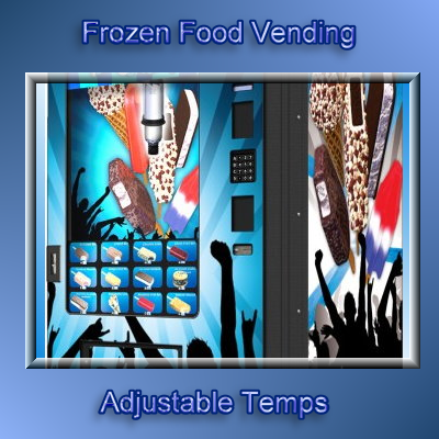 frozen food vending