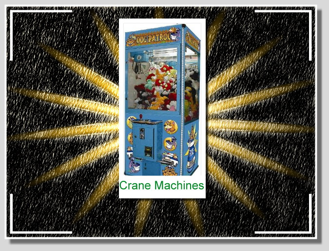 crane vending machines
