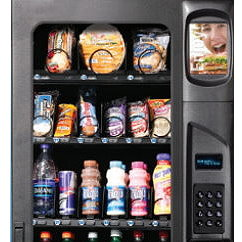 food and drinks combo vending machine
