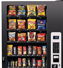 32 selection vending machine