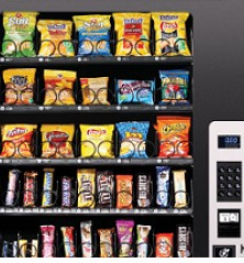 new glass front vending machines