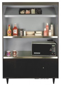 condiment stand for microwaves
