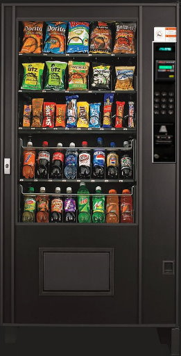 Ams Used Visi Combo Vending Machine Refurbished Ams Combo