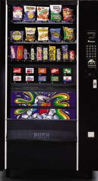 Automatic Products Combo Vending Machine | Used Combo