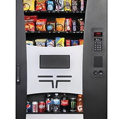 used combo vending machine over under