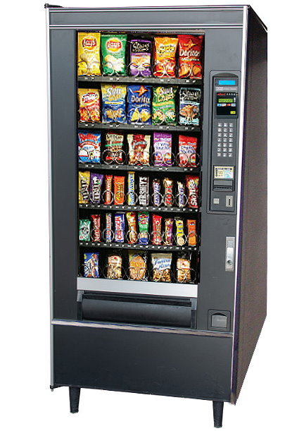 National Vendors 157 Used Vending Machine